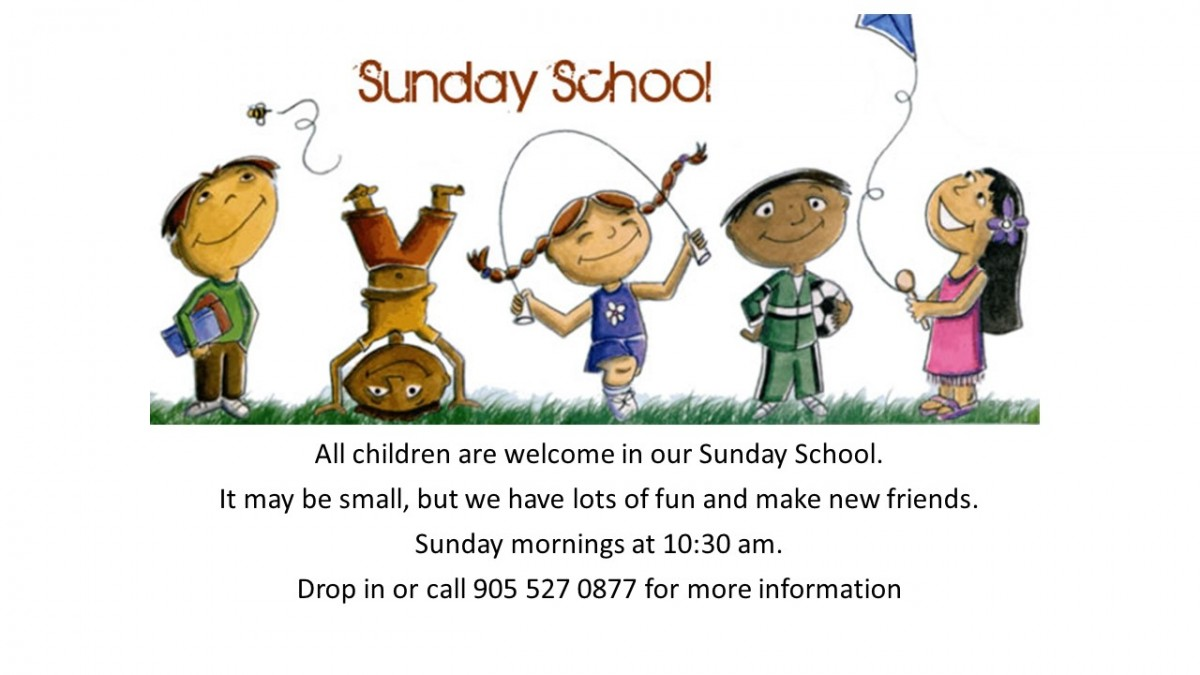 Sunday School Website